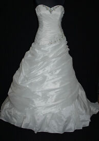 Wedding dresses brand new and unaltered from £50