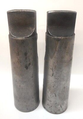 Morse Taper Drill Sleeve Adapter 6-5 Lot Of 2