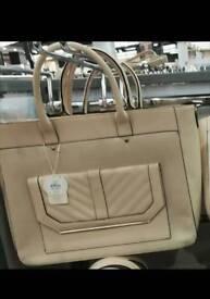 New leather handbag