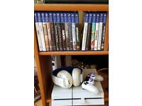 PS4 (500GB - White) + Controller + Cables + Headset + 18 Games