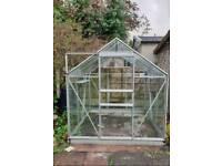 Glass Greenhouse 6x6