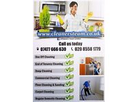 End of tenancy cleaning - Domestic cleaning services - Carpet cleaning - London cleaning company