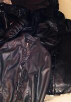3 LEATHER JACKETS
