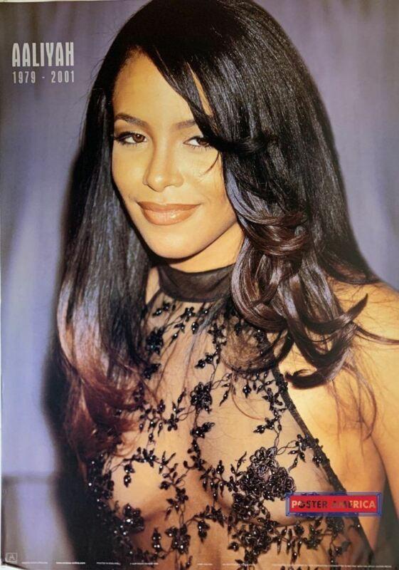 Aaliyah Rare Tribute Poster 24 x 34