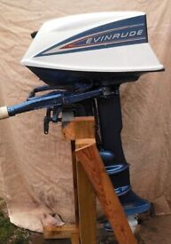 Evinrude 2 Stroke 5.5 HP Longshaft Outboard Fully Reconditioned