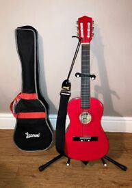 Lauren 1/2 size acoustic guitar