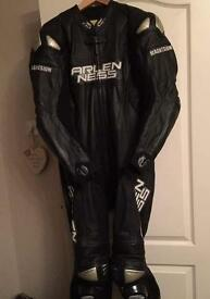 Motor cycle 1 piece race leathers **REDUCED**REDUCED**
