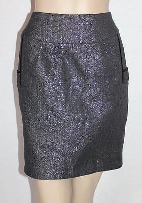 Pilgrim Brand Womens Black Starry Night Skirt Size 8 Bnwt  Sd70