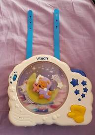 VTECH musical toys with light for cots with straps