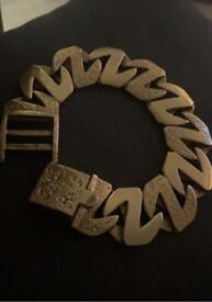 Gold bracelet 131g