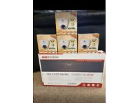 QVIS OYN-X AND HIKVISION CCTV PACKAGE X1 DVR X4 CCTV CAMERAS 2.4MP