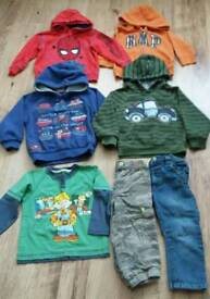 Boys 2 & 2-3 years clothing bundle