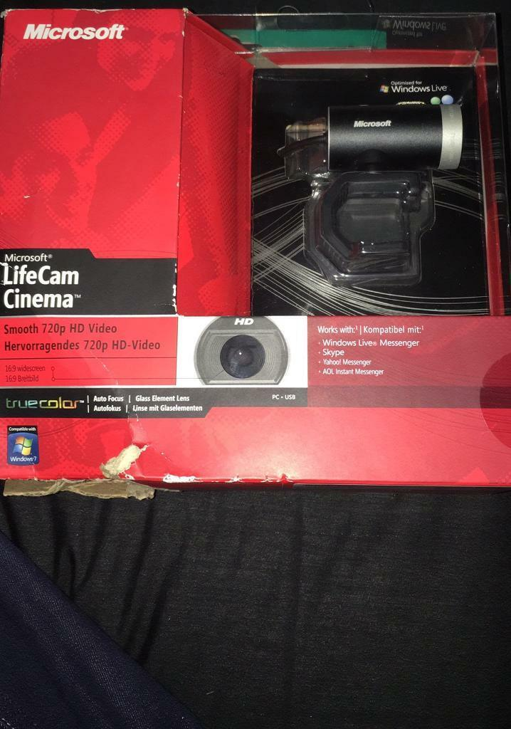 Microsoft lifecam cinema H5d 00003 brand newin Bolton, ManchesterGumtree - Microsoft lifecam cinema H5d 00003 brand new RRP £50 only £29.99 ONO