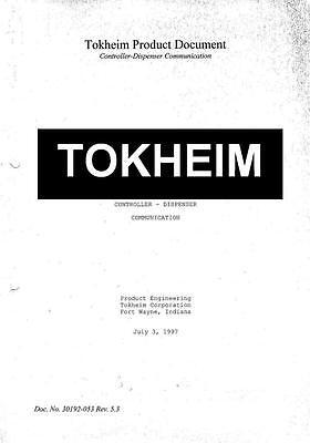 Tokheim Fuel Dispenser Communication Protocol