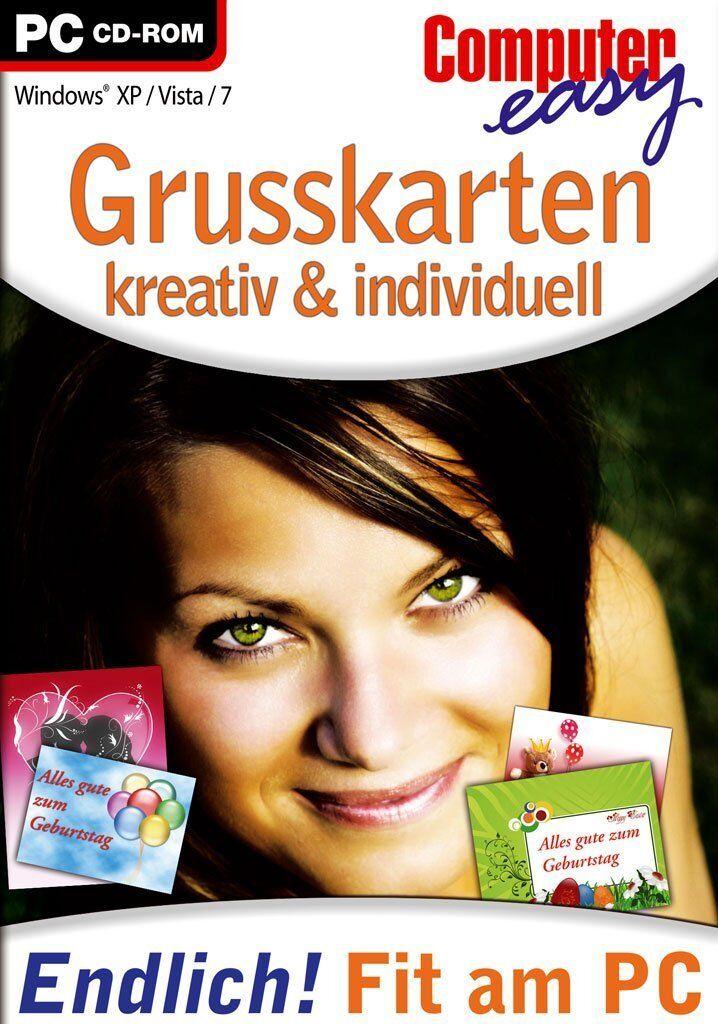 Grusskarten - Kreativ & Individuell (PC, 2010, DVD-Box) Neu