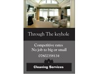 Through The Keyhole cleaning services