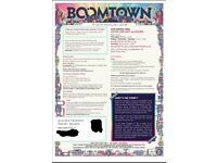 1 x Boomtown Adult Ticket. 9th - 12th August, 2018. Selling for face value