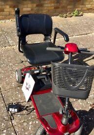 Aerolite mobility scooter