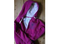 Jack Wills hoody, fleece lined size 12