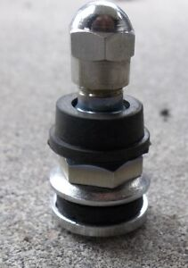 2 -20 PACKS OF CHROME BOLT IN VALVE STEMS WITH EXTRA RUBBER SEAL Belleville Belleville Area image 2