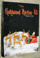 RARE HOLLYWOOD AUCTION CATALOGUE, i.e. HURRELL, TERMINATOR, 2010