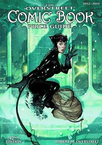 OVERSTREET 2012 2013 COMIC BOOK PRICE GUIDE VOL 42 SC Adam Hughes Catwoman Cover
