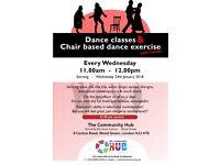 Dance Class at The Community Hub Haringey