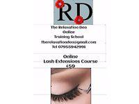 Online Lash Extension Course