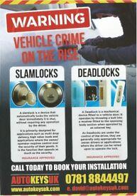 VEHICLE SECURITY LOCKS