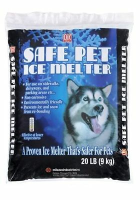(Milazzo 20 LB, Ice Melter Safe for Pets Dog Cat Animal Plants Sidewalk Driveway )