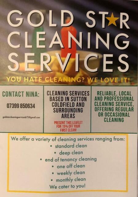 PROFESSIONAL CLEANING SERVICE IN BIRMINGHAM, SUTTON C'FIELD