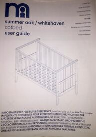 Mothercare Cotbed