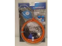 Campingaz Hose and Regulator Kit with Clips - R907 and R904