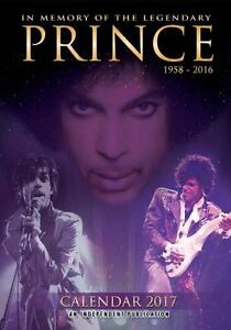 PRINCE 2017 LARGE POSTER WALL CALENDAR NEW & SEALED FREE UK POSTAGE !!