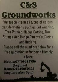 All groundwork's undertaken