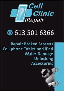 WE FIX BROKEN SCREEN (PHONES, IPADS AND TABLETS), CHARGING PORT, CAMERA, BATTERY REPLACEMENT