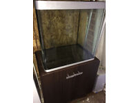 FLUVAL OSAKA 155 LITRE FISH TANK & CABINET FOR MARINE OR TROPICAL - DELIVERY 07544000786