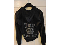 Blue Juicy Couture Hooded Tracksuit, Crystal Embellishments, Size 16/18, Worn Once, £50 ono,Blantyre