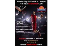 Want to Play Basketball in London? Come Out & Play
