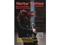 Guitar and Bass Lessons (Beginner to Intermediate)