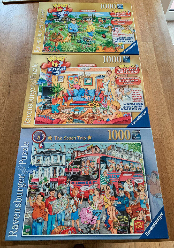 3 x Ravensburger jigsaw puzzles, made once but as good as new | in West  Moors, Dorset | Gumtree