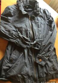 Ladies size 12 summer coat grey