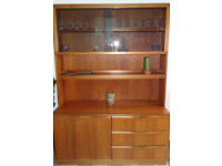 Lovely wooden dresser with shelves, drawers and cupboard under