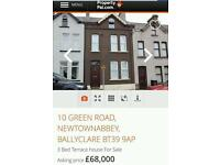 3 bed 3 storey terrace