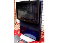 BANG AND OLUFSEN TELEVISION BEOVISION AVANT Built in VCR with REMOTE MOTORISED IN MINT CONDITION