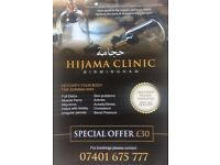 Fully qualified & certified hijama (cupping) laser hair removal for male and female