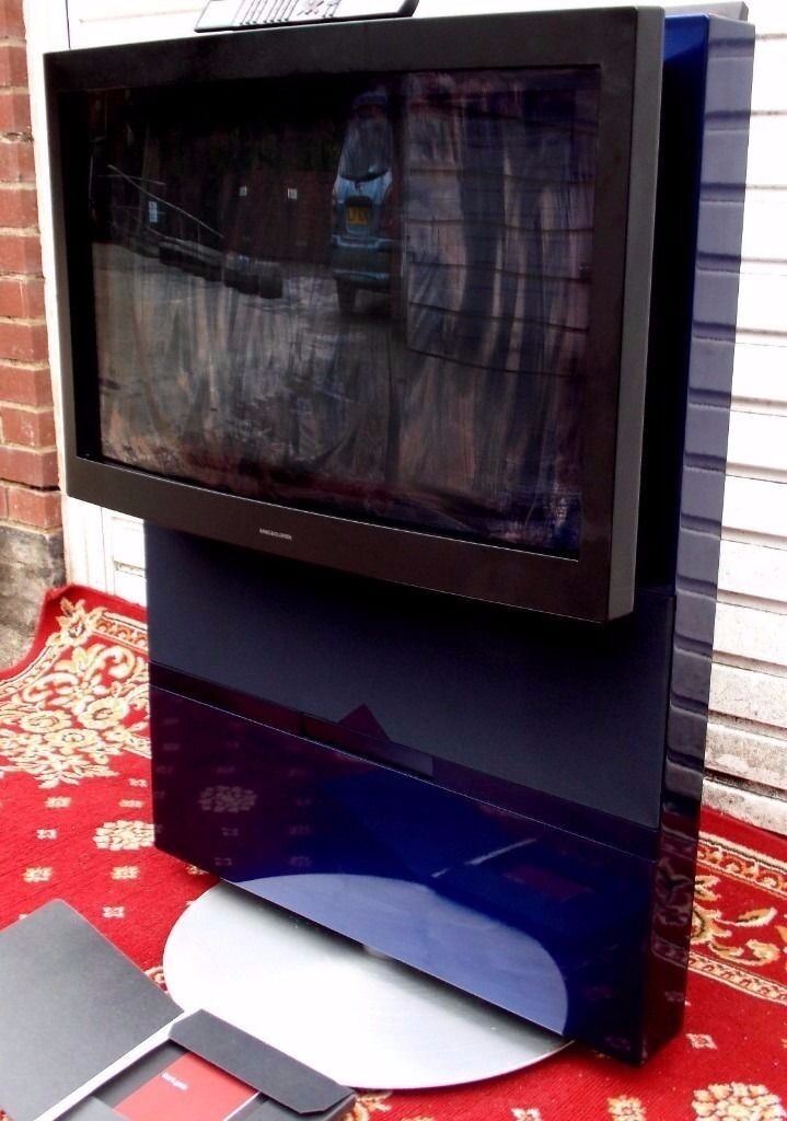 BANG AND OLUFSEN TELEVISIONS BEOVISION AVANT & B & O MX 4002 TV... MOTORISED IN MINT CONDITION