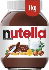 2 x Nutella Hazelnut Chocolate Spread, 1 kg