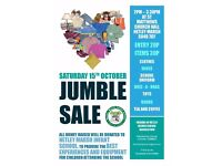 Jumble Sale - Netley Marsh - 15th October