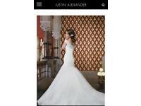 Brand New , Never Worn Justin Alexander Wedding Dress
